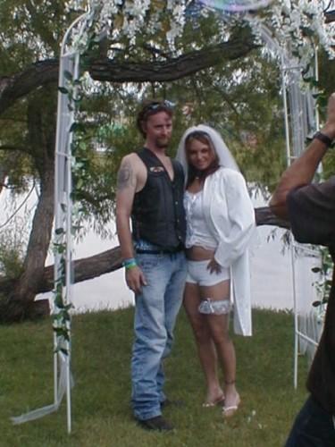 White trash wedding dresses